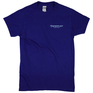 McKevlin's - Wave Warriors Men's S/S T - Cobalt Blue - MCKEVLIN'S SURF SHOP