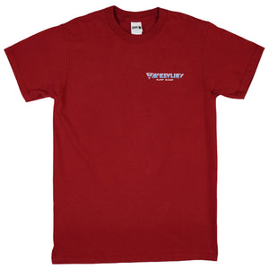 McKevlin's - Wave Warriors Men's S/S T - Red
