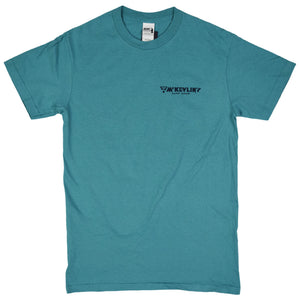 McKevlin's - Wave Warriors Men's S/S T - Dark Seafoam - MCKEVLIN'S SURF SHOP