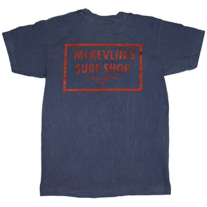 McKevlin's - 65 Dye Youth S/S T - Denim - MCKEVLIN'S SURF SHOP