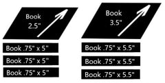 Wood Book Size Templates
