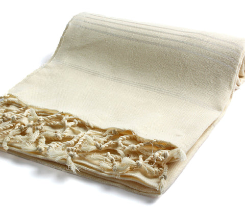 Turkish Towel in Beige
