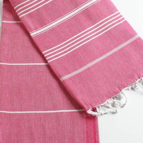 Turkish Towel in Fuchsia