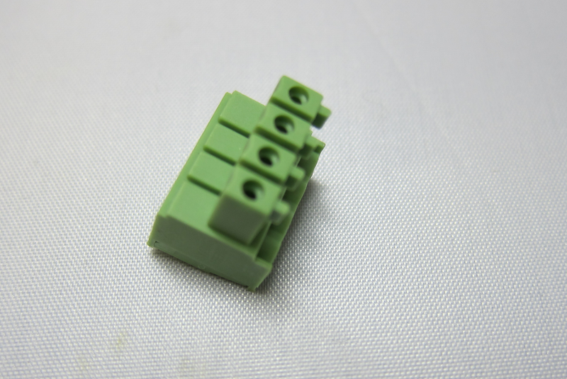 Wanhao i3 Male connector 4 pin