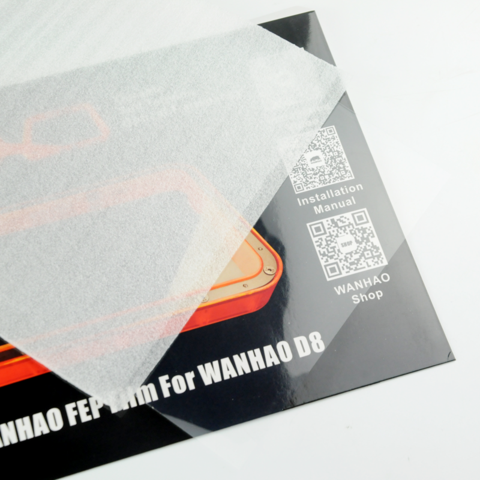 Wanhao D8 FEP Film 0.15 mm