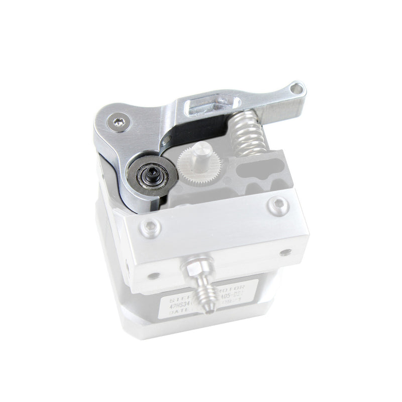 Micro Swiss CNC Machined Lever and Extruder Plate for Wanhao i3