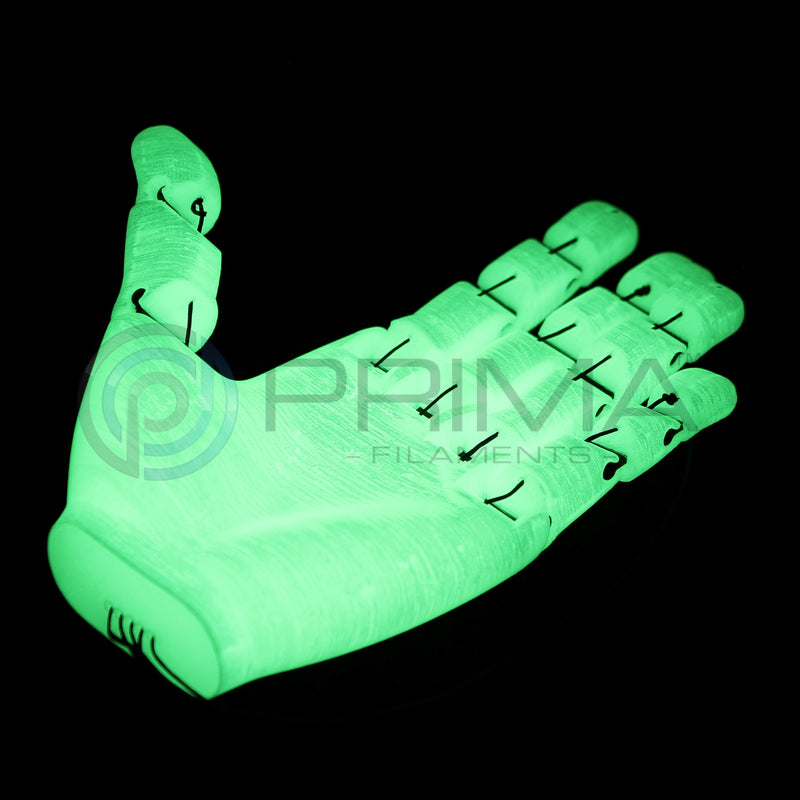PrimaSelect PLA - 2.85mm - 750 g - Glow in the Dark Green
