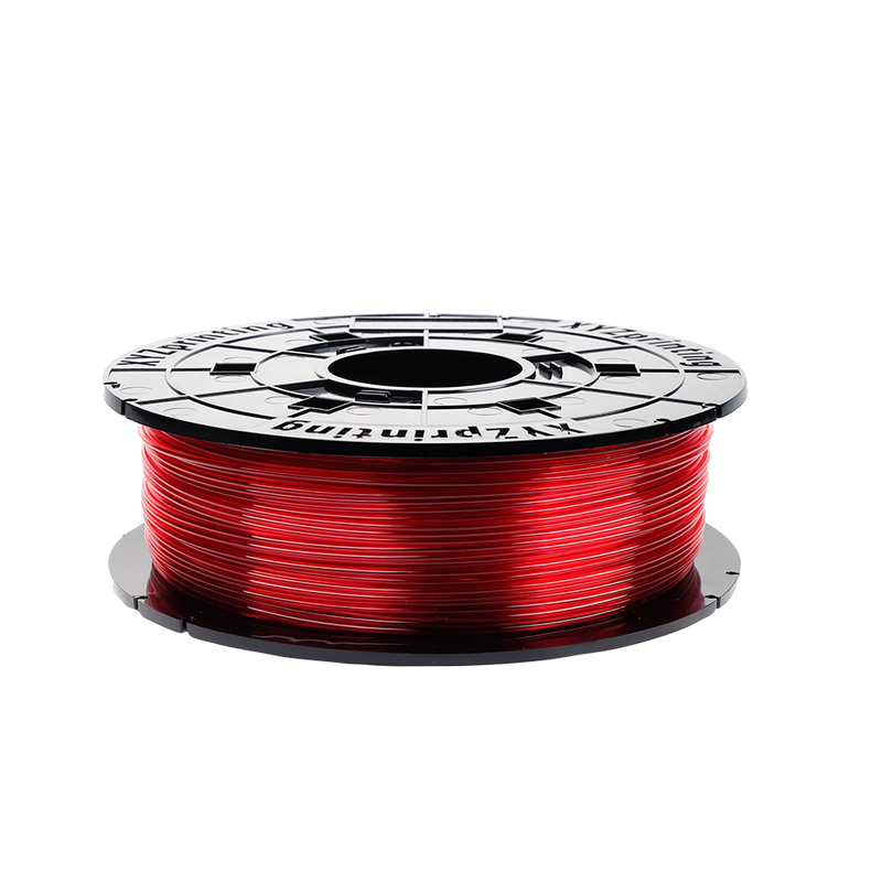 XYZprinting Da Vinci Junior / Mini / Nano - PETG - 600g - Clear Red