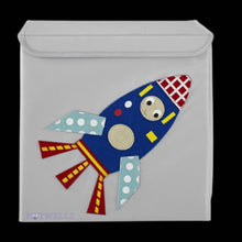 Load image into Gallery viewer, Potwells - Rocket Children's Storage Box | We Shop Local Carleton Place
