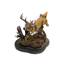 Load image into Gallery viewer, River's Edge Deer Lamp with Metal Shade