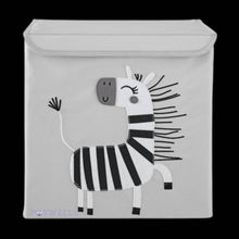 Load image into Gallery viewer, Potwells - Zebra Children's Storage Box | We Shop Local Carleton Place
