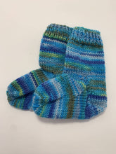 Load image into Gallery viewer, Hand Knit Baby Socks