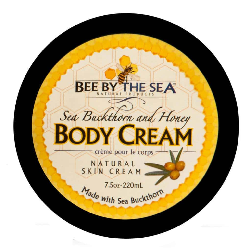 Bee by the Sea Body Cream Jar | We Shop Local Perth ON