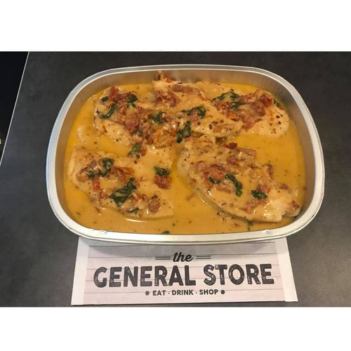 Frozen - Creamy Chicken in Parmesan Sundried Tomato Sauce with Rice | We Shop Local Carleton Place