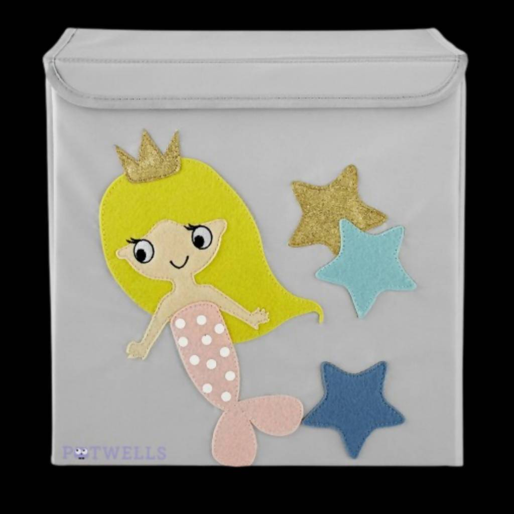 Potwells - Mermaid Children's Storage Box | We Shop Local Carleton Place