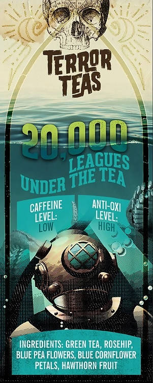 Deadly Grounds Tea - 20,000 Leagues Under The Tea | Flavoured Green Tea | We Shop Local Carleton Place