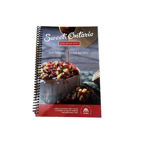 Sweet Ontario Maple Cook Recipe Book | We Shop Local Carleton Place