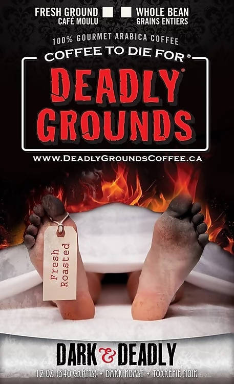 Deadly Grounds Coffee - Dark & Deadly