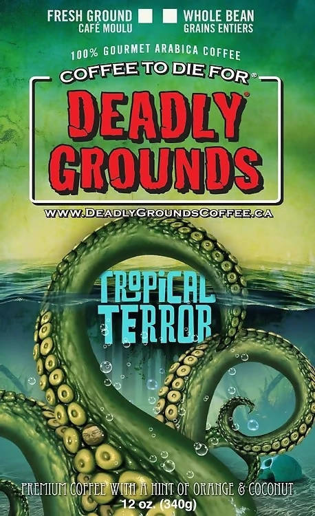 Deadly Grounds Coffee - Tropical Terror