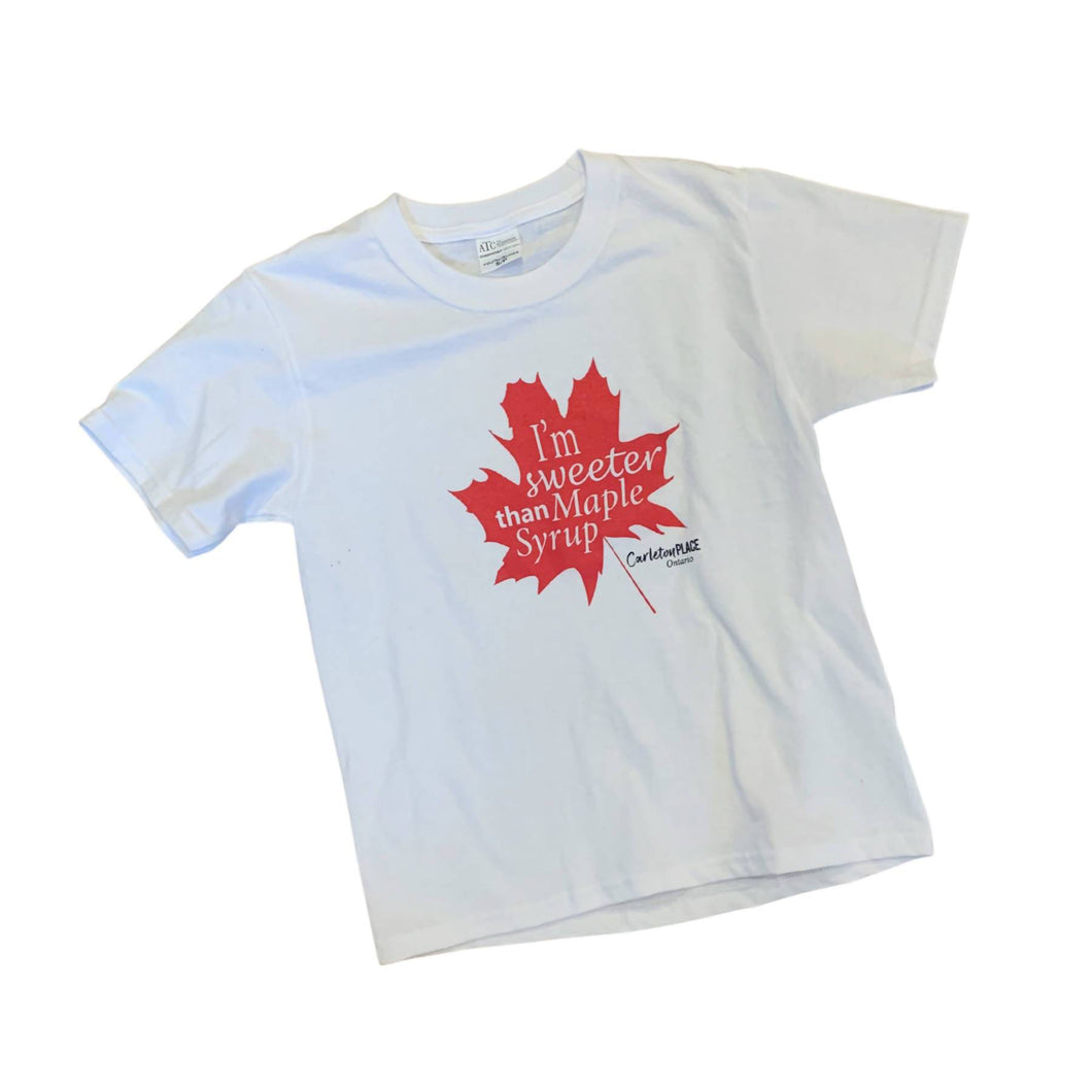 Sweeter Than Maple Syrup Children's Tee