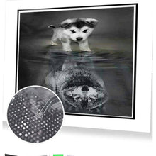 Load image into Gallery viewer, Diamond Kit- Dog to Wolf 5D