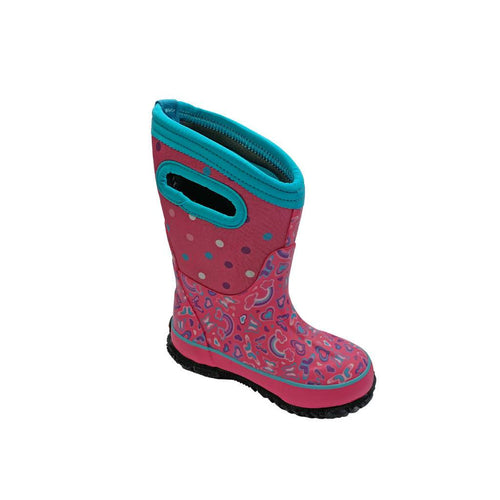 BOGS Girl's Classic Winter Boot Rainbow | We Shop Local Carleton Place