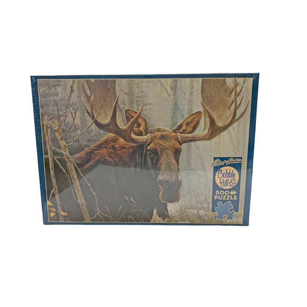 Robert Bateman - Bull Moose - 500 Piece Puzzle | We Shop Local Carleton Place