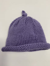 Load image into Gallery viewer, Hand Knit Baby Hat