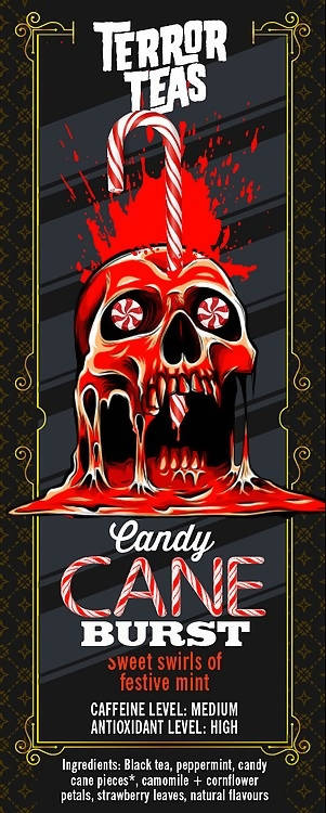 Deadly Grounds Tea - Candy Cane Burst | We Shop Local Carleton Place