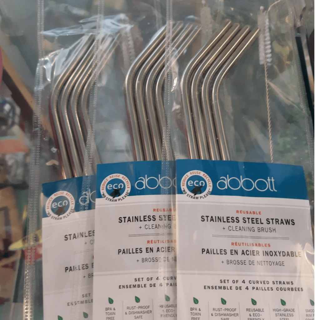 Abbott Stainless Straws | We Shop Local Carleton Place