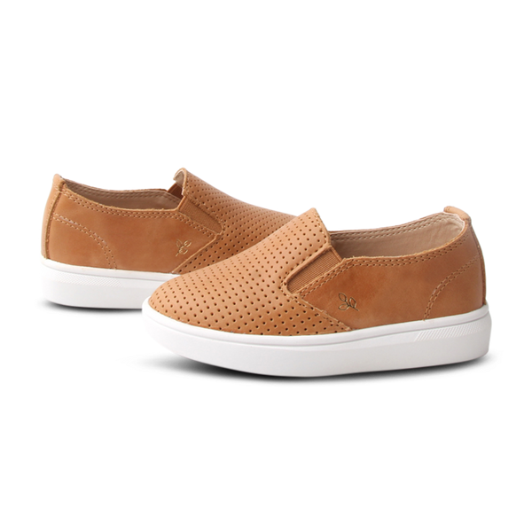 Ryder Slip-On. Clay. Hard Sole - Little Big