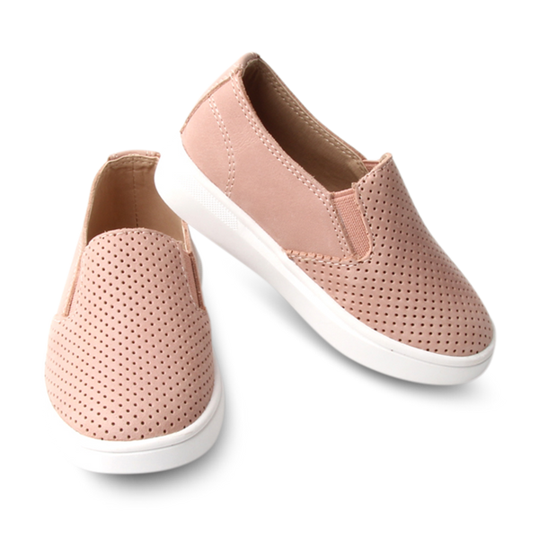 Ryder Slip-On. Peony. Hard Sole - Little Big