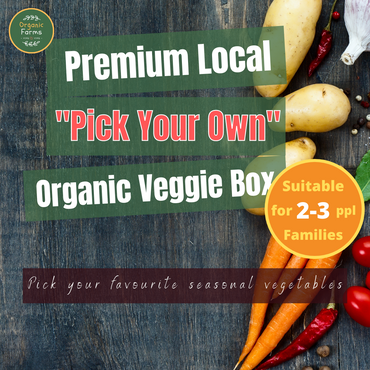 """Pick Your Own"" Premium Local Organic Veggie Box - MEDIUM"