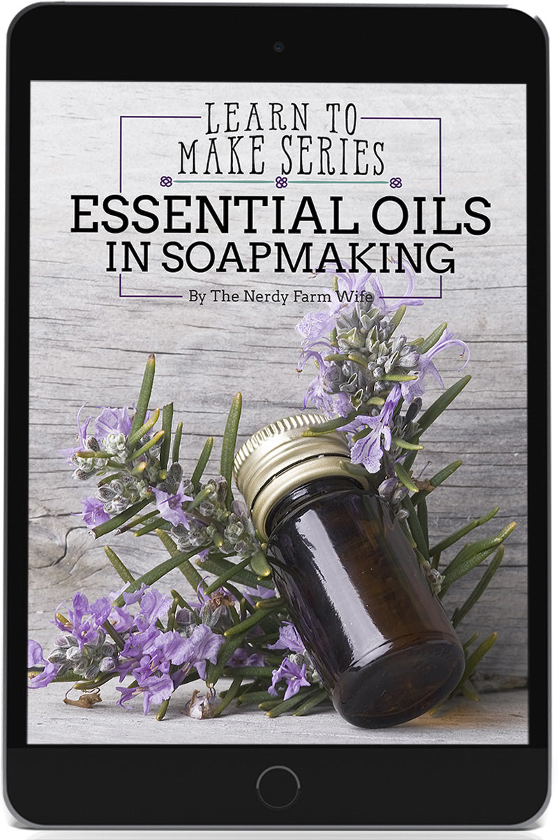 Essential Oils In Soapmaking eBook