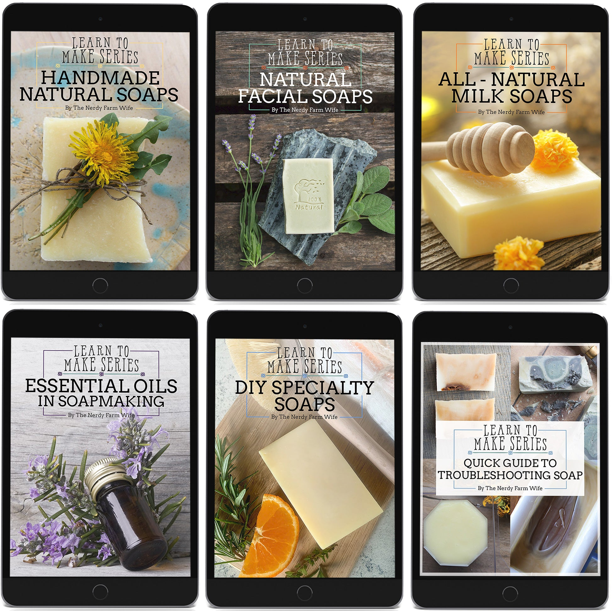 Handmade Natural Soaps Complete eBook Collection - Digital