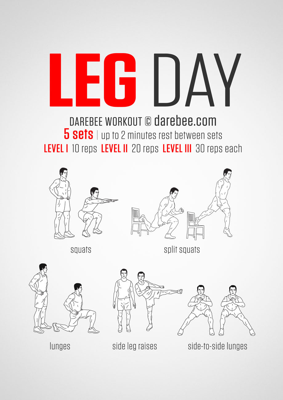 Great leg day workout for horse riders