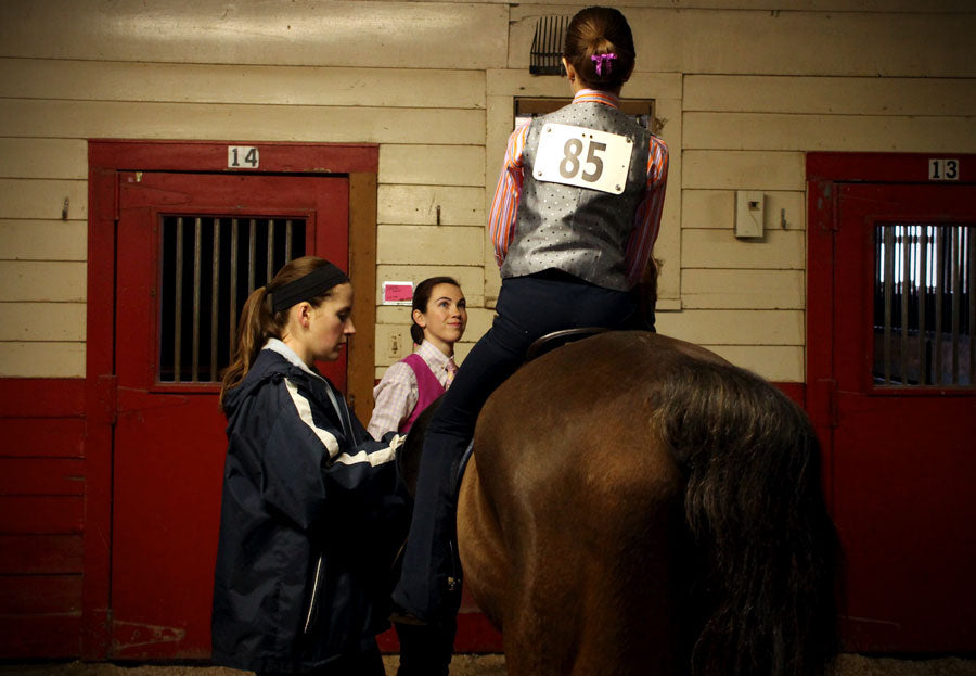 How to be a good sportsperson at horse shows