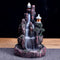 Incense Waterfall - Ceramic Backflow Mountain - Incense Burner