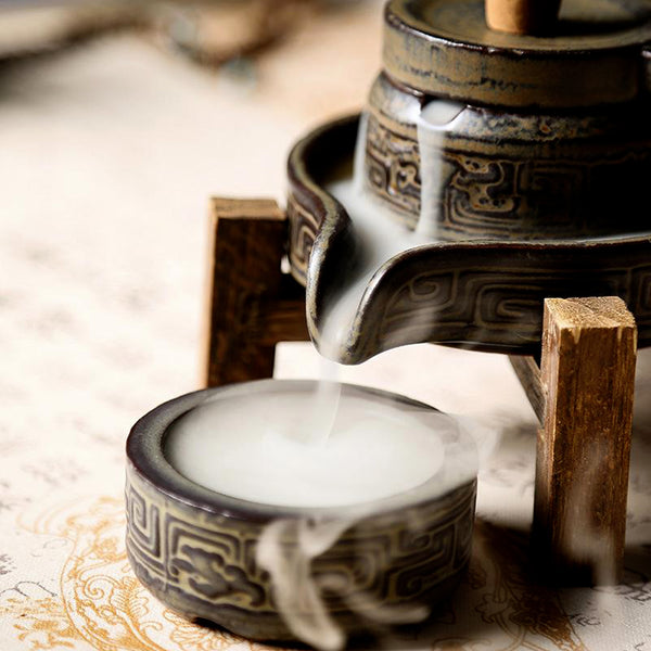Incense Waterfall - Tibetan Backflow - Incense Burner