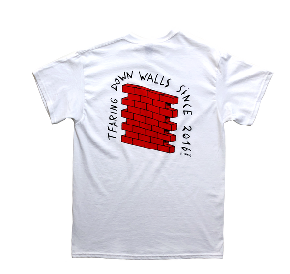 Friedhats T-shirt 'Tearing Down Walls' - M