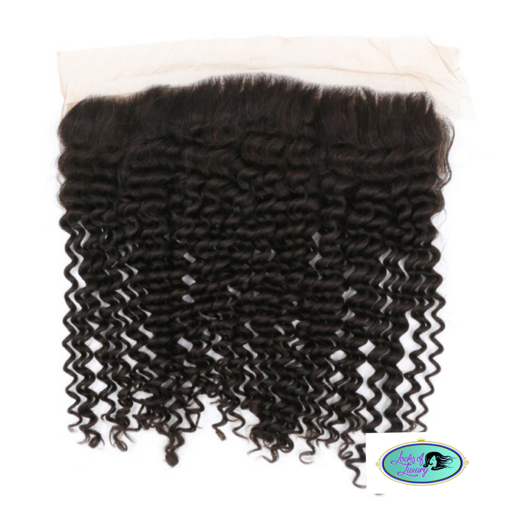Virgin Brazilian Luxe Curly Frontal