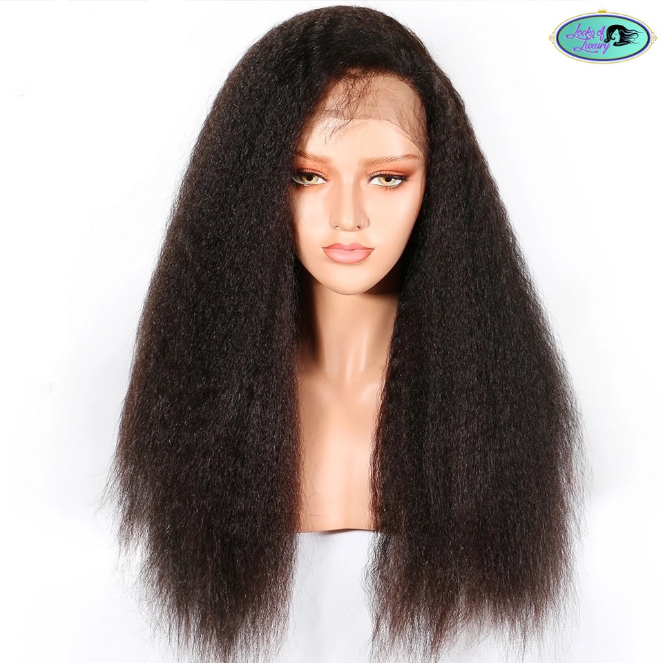 Lace Front Wig Kinky Straight