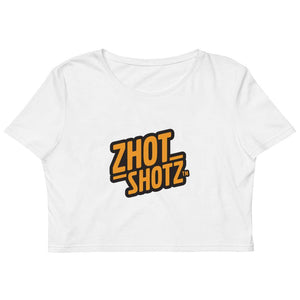 Zhot Shotz- Organic Crop Top - Zhot Shop