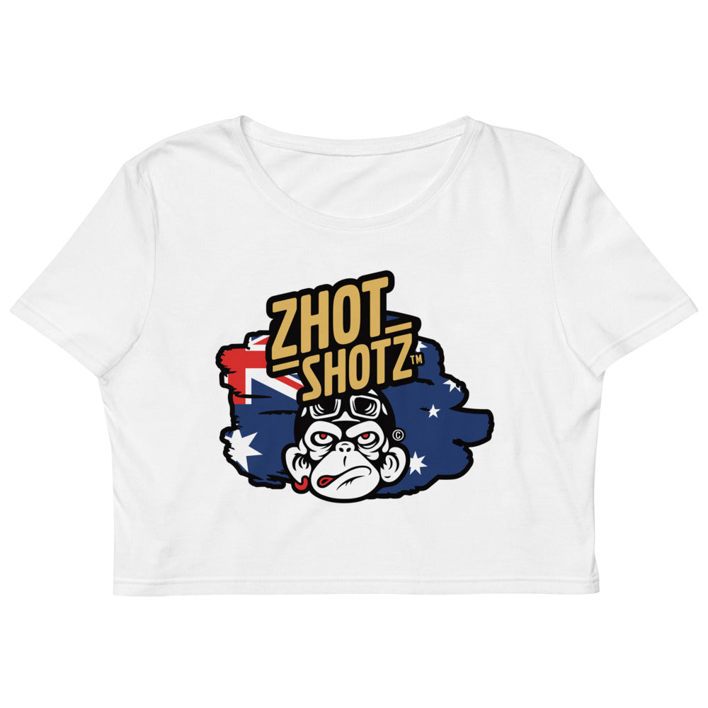 Zhot Shotz-Organic Crop Top