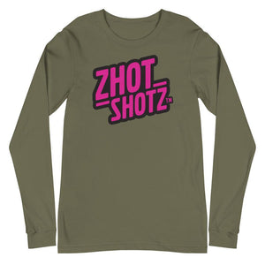 Zhot Shotz -Unisex Long Sleeve Tee - Zhot Shop