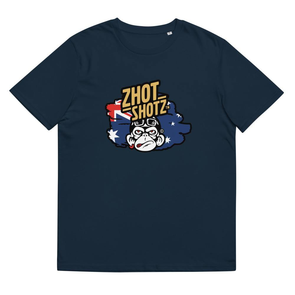 Zhot Shotz Monkey-Unisex organic cotton t-shirt - Zhot Shop