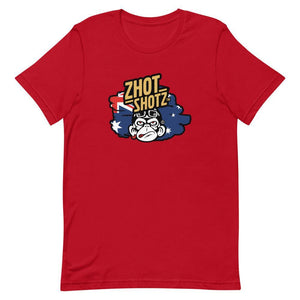 Zhot Shots Monkey-Short-Sleeve Unisex T-Shirt - Zhot Shop
