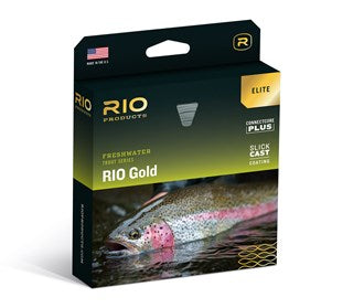 Rio Gold Elite Fly Line Moss/Gold/Grey