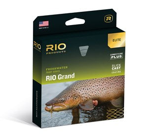 Rio Grand Elite Fly Line Green/Yellow/Gray