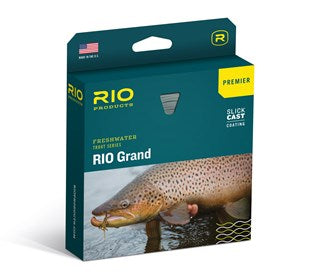 Rio Grand Premier Fly Line Green/Yellow